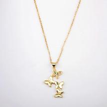 Flutter Butterfly Necklace