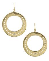 Stela Disc Earrings