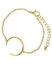 Crescent Bracelet: Gold OR Silver