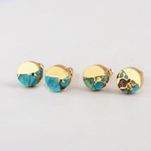 Little Turquoise Stud Earrings