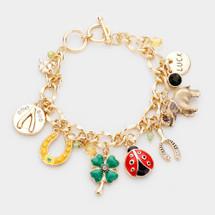 Luck Multi Charm Bracelet