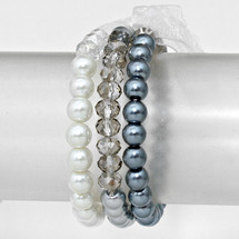 All The Grays Bracelet Set