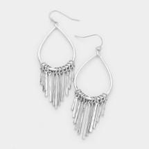 Vertical Bars Drop Earrings
