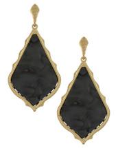 Caprice Earrings - Black