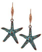 Beachy Starfish Earrings