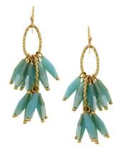 Glass Cluster Drops Earrings