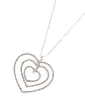 Layered Hearts Necklace