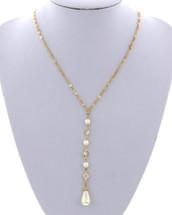 Pearls Y Necklace