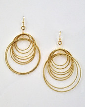 Hoops On Hoops Earrings