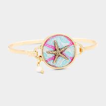 Starfish Charm Hook Bracelet