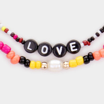 Summer Love Beaded Necklace