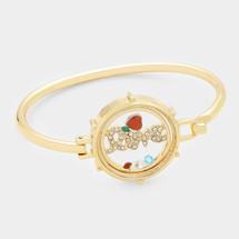 Floating Heart Love Bracelet
