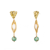 Mia Semi Precious Stone Earrings