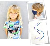 Kids Face Mask Cords: Set Of 2