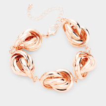 Metal Knot Bracelet