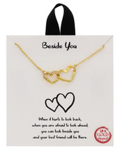 Beside You Necklace: Gold Or Silver
