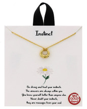 Instinct Necklace: Gold Or Silver
