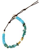 Semi Precious Stones Bracelet: Turquoise