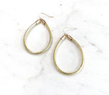 Golden Teardrops Earrings