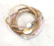 Rosie Semi Precious Bracelet Set