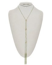 Long Layered Tassels Necklace