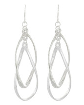 Twist Around Drop Earrings