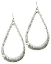 Silver Teardrops Earrings