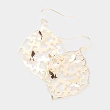 All A Flutter Butterfly Earrings: Gold Or Silver