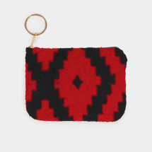 Western Vibes Coin Purse - Red