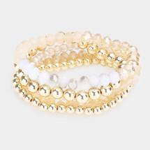 Cream Bracelet Stack/Set