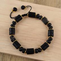Natural Pelelith Beads Bracelet