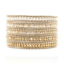 Kalahari Leather Wrap Bracelet