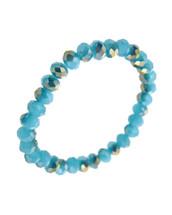 Semi Precious Blue Faceted Bracelet