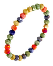 Autumn Semi Precious Beaded Bracelet