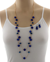 All The Blue Necklace Set
