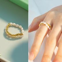 Natural Pearl Rings - More Styles