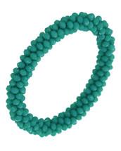Turquoise Beaded Semi Precious Bracelet