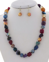 Colors Of Fall Necklace