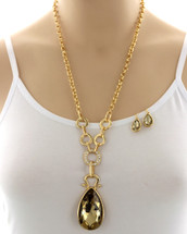 Champagne For Breakfast Necklace