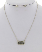 Silvery Shimmer Necklace