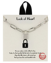 Lock Of Heart Necklace