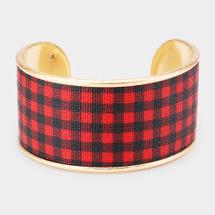 Buffalo Check Bracelet