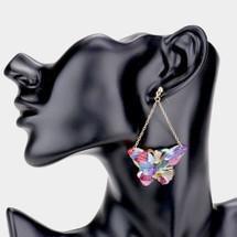 Colorful Butterfly Earrings