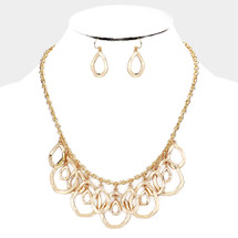 All The Teardrops Necklace: Gold Or Silver
