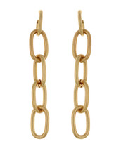 All Linked Up Earrings: Gold Or Silver