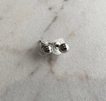 Little Ball Stud Earrings: Gold or Silver - LAST ONES!