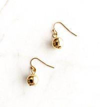 Little Ball Drop Earrings: Gold Or Silver: LAST ONES!