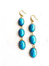SOLD OUT! Blue Drop Earrings - LAST PAIR!