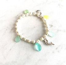 Beachy Charm Bracelet - ONLY ONE!