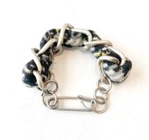 Herringbone Tweed Links Bracelet - ONLY ONE!